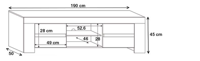 dimension meuble tele maison et mobilier d 39 int rieur. Black Bedroom Furniture Sets. Home Design Ideas