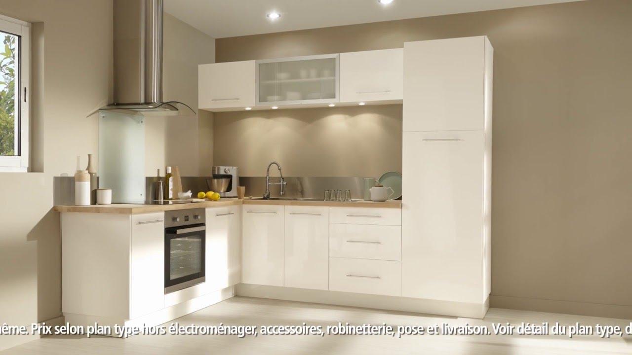 Meuble De Cuisine Luna Brico Depot Maison Et Mobilier D Int Rieur # Meuble Tv Brico Depot