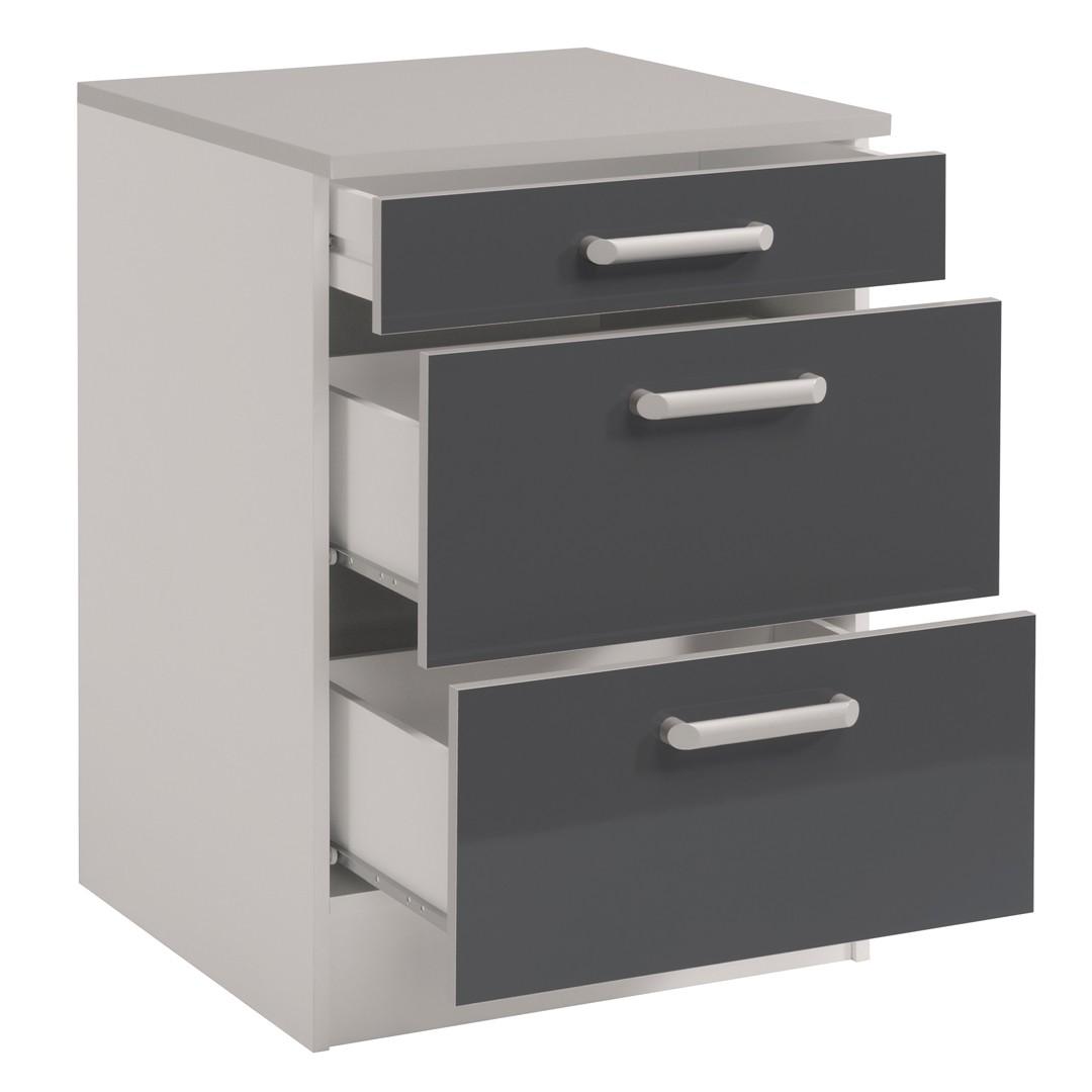 Meuble de cuisine 3 tiroirs maison et mobilier d 39 int rieur for Tiroir interieur cuisine