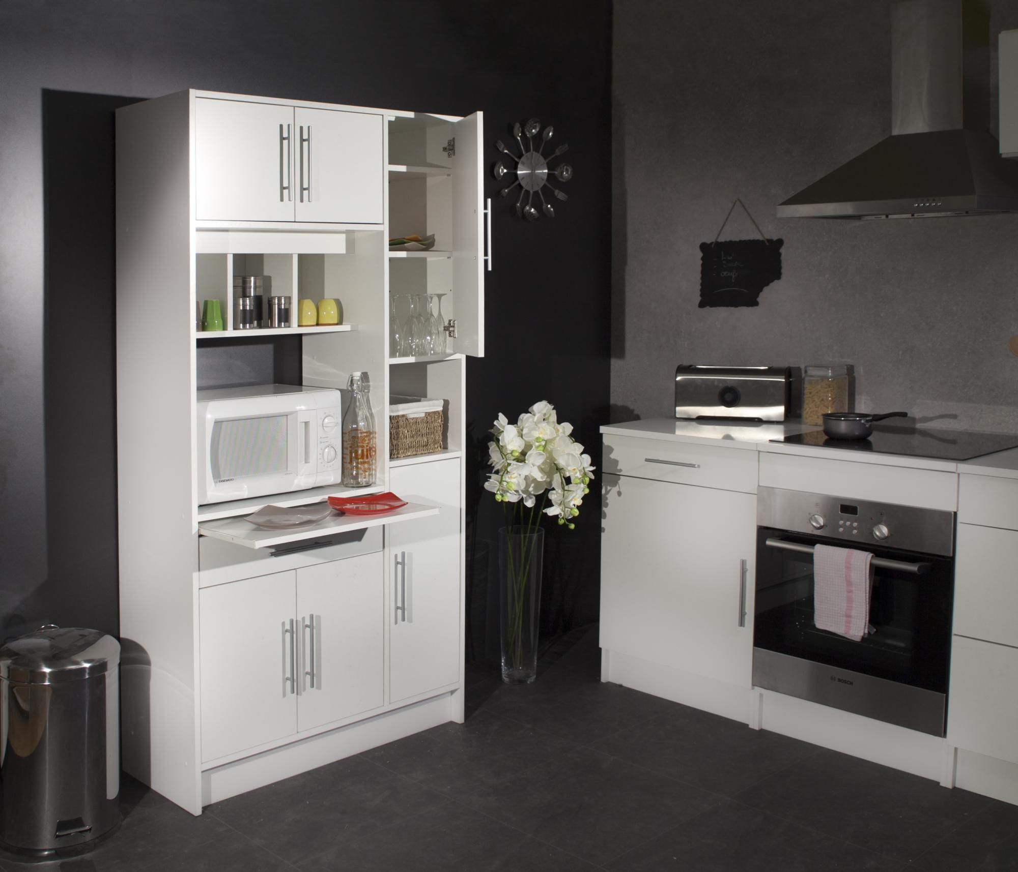 Armoire rangement cuisine pas cher maison et mobilier d 39 int rieur - Meuble gautier moins cher ...