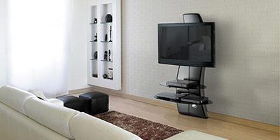 Meuble tv a accrocher au mur maison et mobilier d 39 int rieur - Meuble tv ecran plat suspendu ...