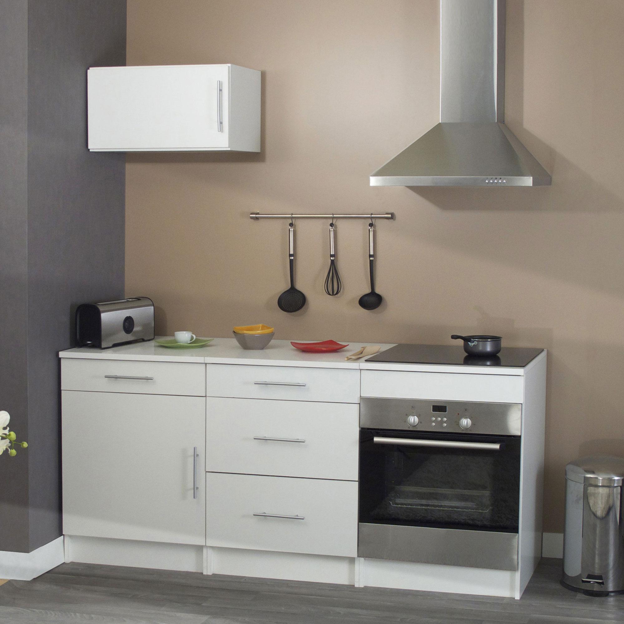 meuble cuisine pour plaque encastrable maison et mobilier d 39 int rieur. Black Bedroom Furniture Sets. Home Design Ideas