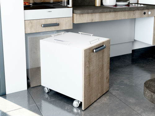 Meuble de cuisine mobile maison et mobilier d 39 int rieur - Meuble cuisine a roulette ...