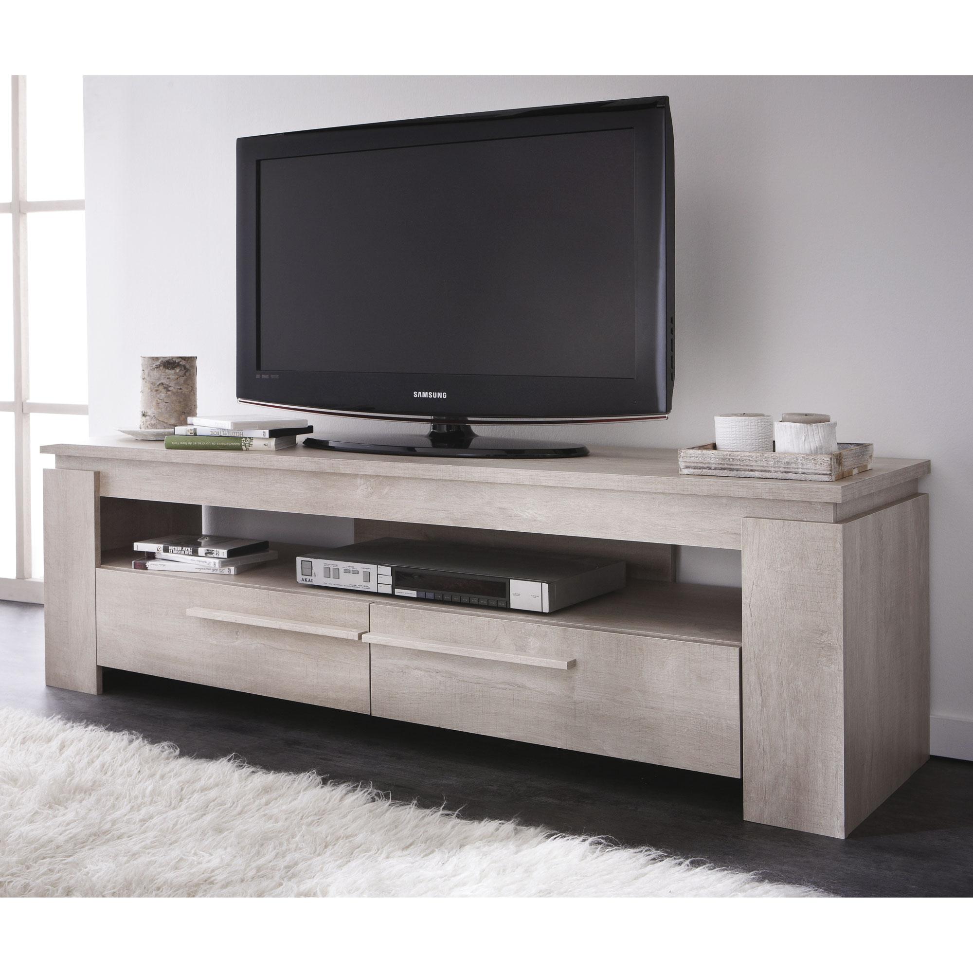 Meuble Bas De Tv Maison Et Mobilier Dintérieur - Meuble tv wenge pas cher pour idees de deco de cuisine