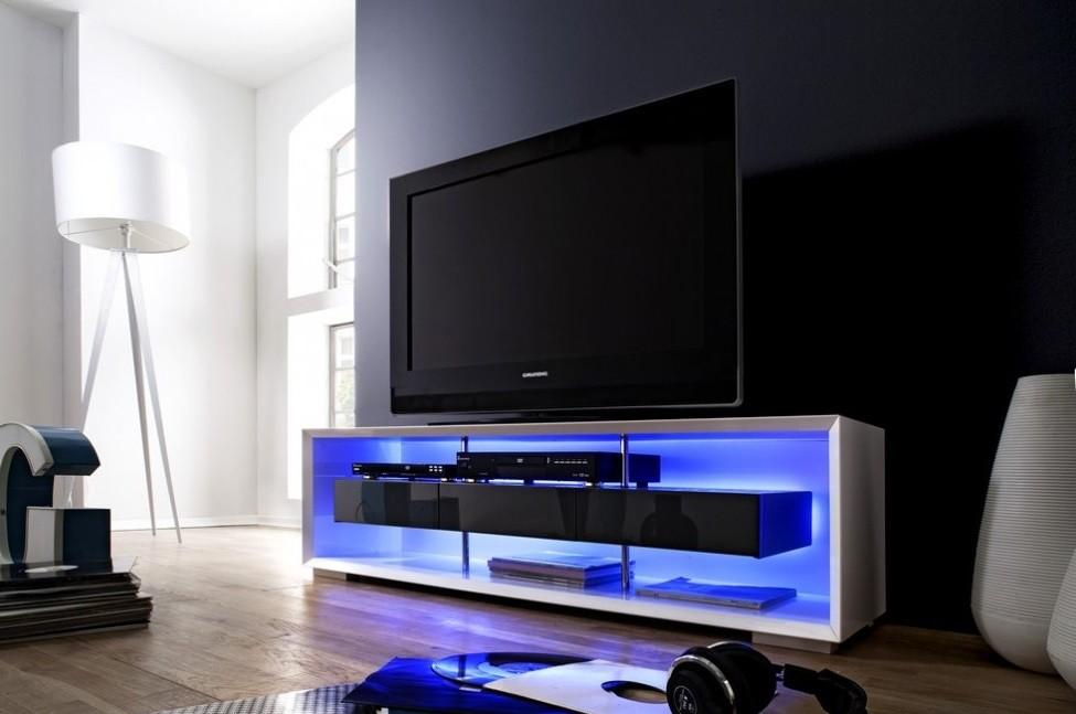 meuble tv design led maison et mobilier d 39 int rieur. Black Bedroom Furniture Sets. Home Design Ideas