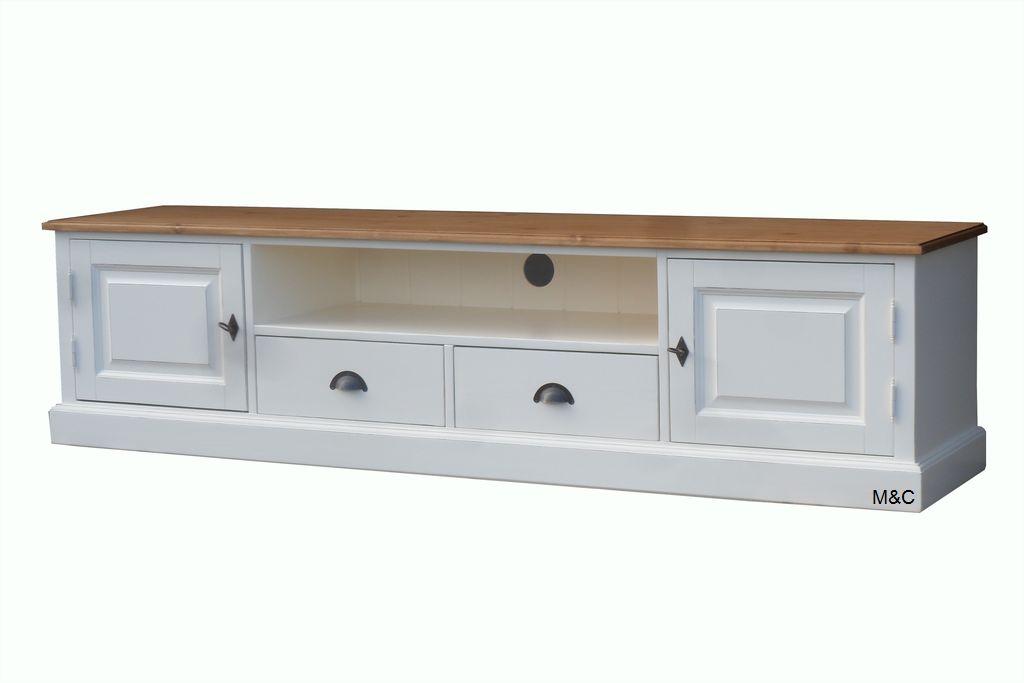 Meuble tv bois gris blanc maison et mobilier d 39 int rieur - Meuble blanc et gris ...