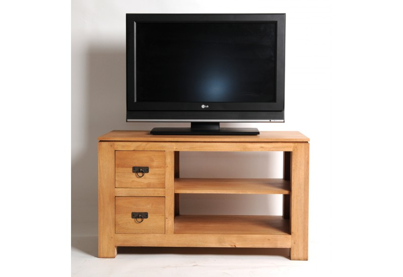 Meuble tv haut bois Maison et mobilier d intérieur