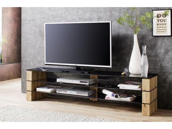 meuble tv 140 cm bois maison et mobilier d 39 int rieur. Black Bedroom Furniture Sets. Home Design Ideas