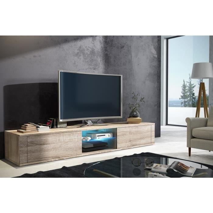 meuble tv long pas cher maison et mobilier d 39 int rieur. Black Bedroom Furniture Sets. Home Design Ideas