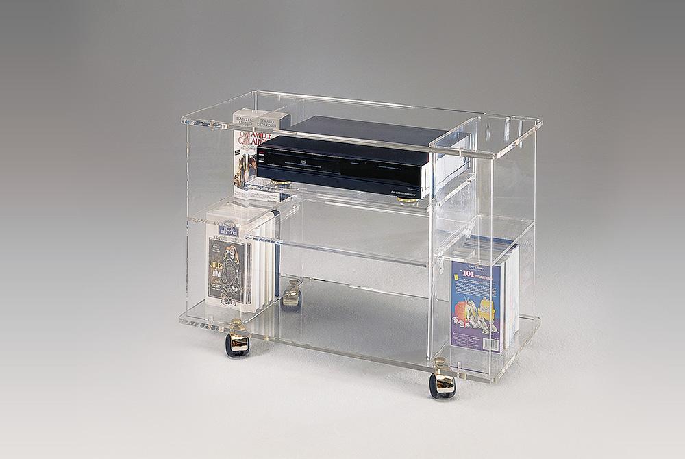 Meuble tv plexiglas maison et mobilier d 39 int rieur - Meuble en plexiglas ...