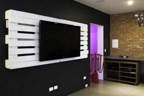 Meuble tv fixation murale Maison et mobilier d intérieur