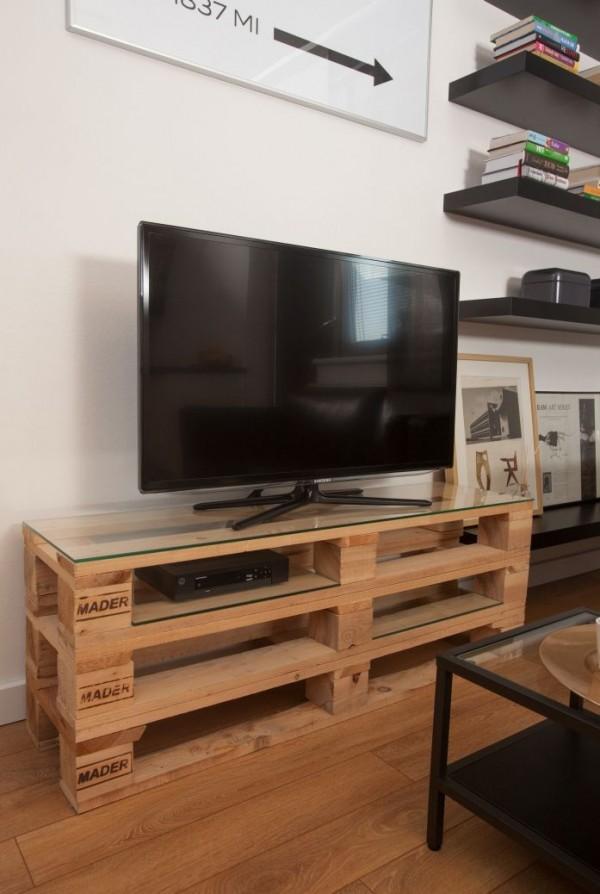 Bien-aimé Fabriquer un meuble tv en palette - Maison et mobilier d'intérieur UH01