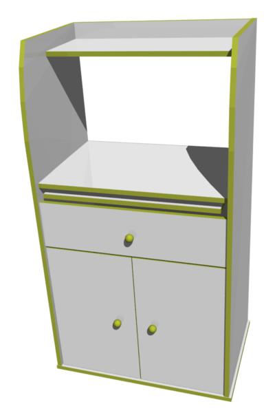 Meuble de cuisine pour micro onde maison et mobilier d 39 int rieur - Meuble micro onde cuisine ...