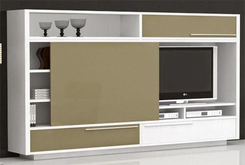 Meuble tv qui ferme maison et mobilier d 39 int rieur for Meuble qui cache la tv