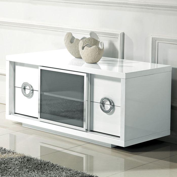 meuble haut tv blanc maison et mobilier d 39 int rieur. Black Bedroom Furniture Sets. Home Design Ideas