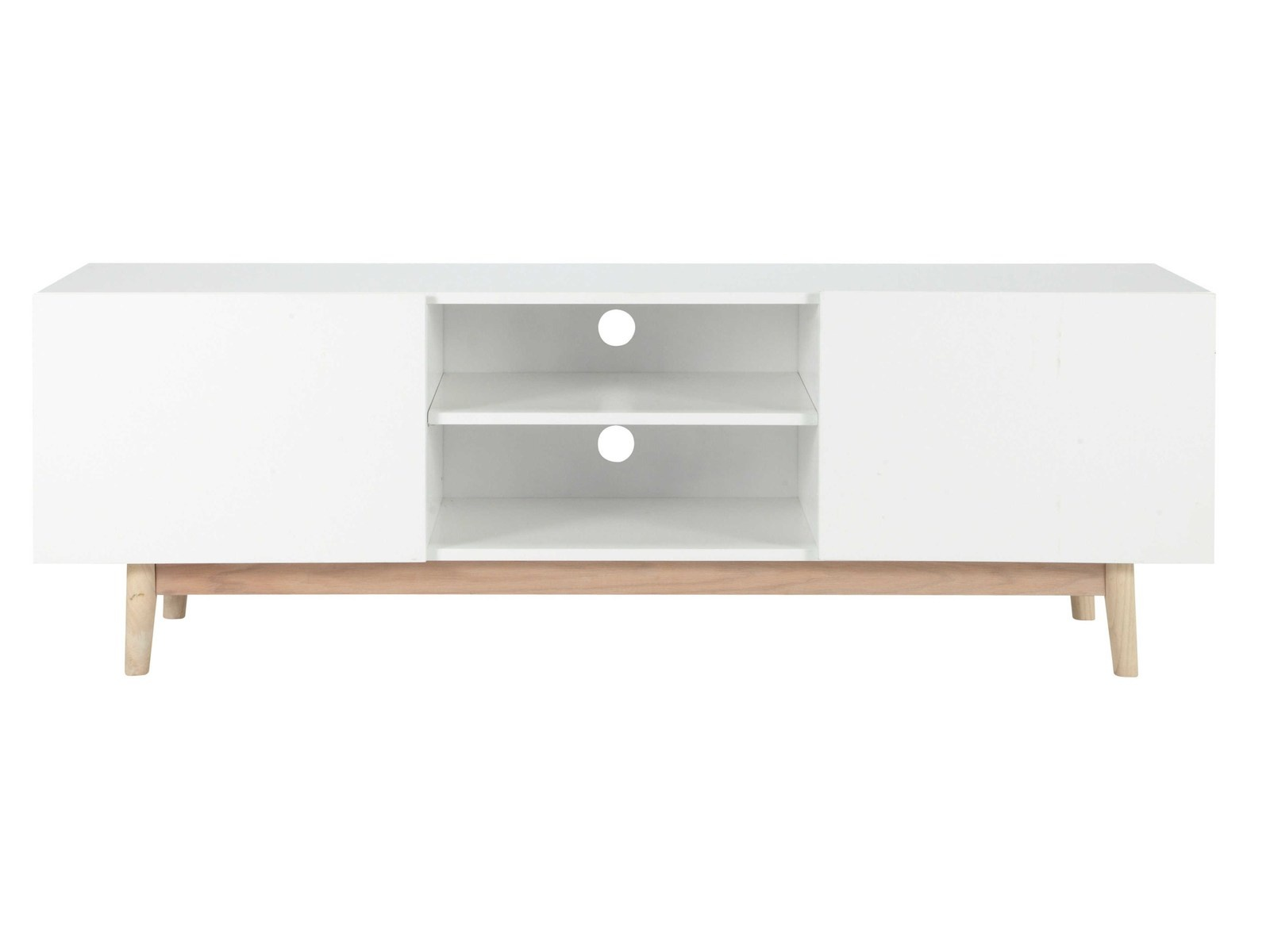 Ikea Meuble Tv Scandinave - Meuble Tv Scandinave Ikea Sellingstg Com[mjhdah]http://www.miliboo.com/meuble-tv-scandinave-blanc-brillant-et-frene-180cm-melka-32041-principale_0_0_0.jpg