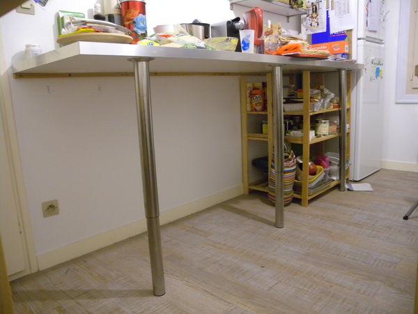 meuble de cuisine avec plan de travail ikea maison et mobilier d 39 int rieur. Black Bedroom Furniture Sets. Home Design Ideas