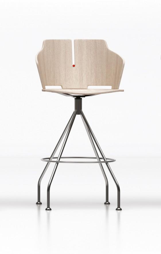 tabouret de bar 4 pieds pivotant maison et mobilier d. Black Bedroom Furniture Sets. Home Design Ideas