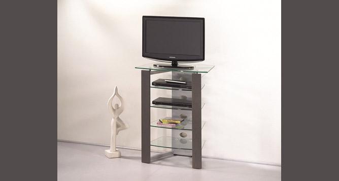 Meuble tele angle blanc maison et mobilier d 39 int rieur for Petit meuble tele