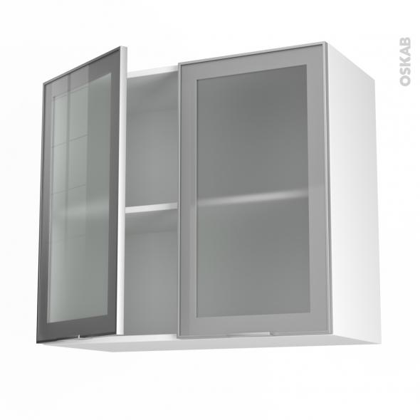 Meuble De Cuisine Portes Maison Et Mobilier Dintérieur - Meuble haut cuisine 3 portes pour idees de deco de cuisine