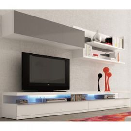 meuble tv mural ikea - Meuble Tele Blanc Ikea