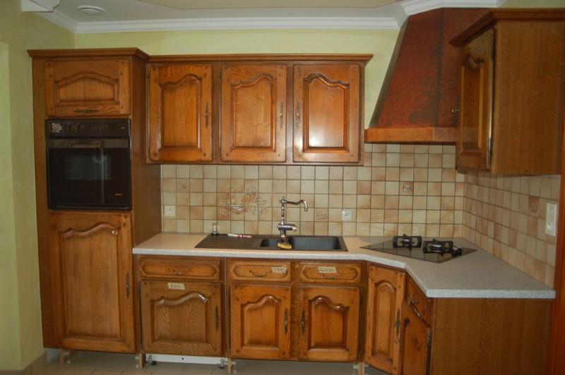 Meuble de cuisine en chene maison et mobilier d 39 int rieur for Porte meuble cuisine chene massif