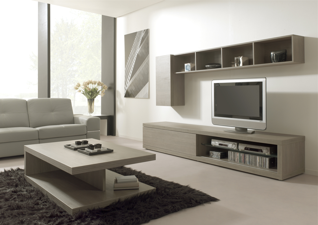 Luxus Meuble Tv Et Table Basse Id Es De Conception De Table Basse # Meuble Tv Design Bois Cendre
