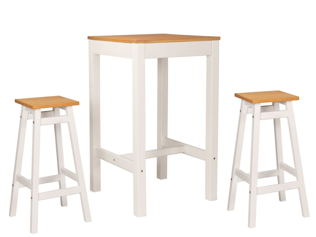 Table et chaise de bar maison et mobilier d 39 int rieur - Meuble gain de place pas cher ...