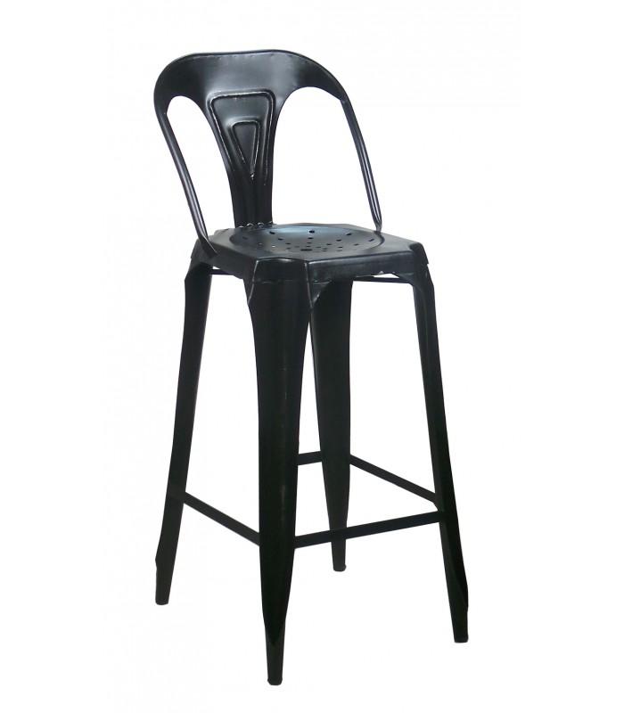 tabouret de bar industriel 65 cm maison et mobilier d 39 int rieur. Black Bedroom Furniture Sets. Home Design Ideas