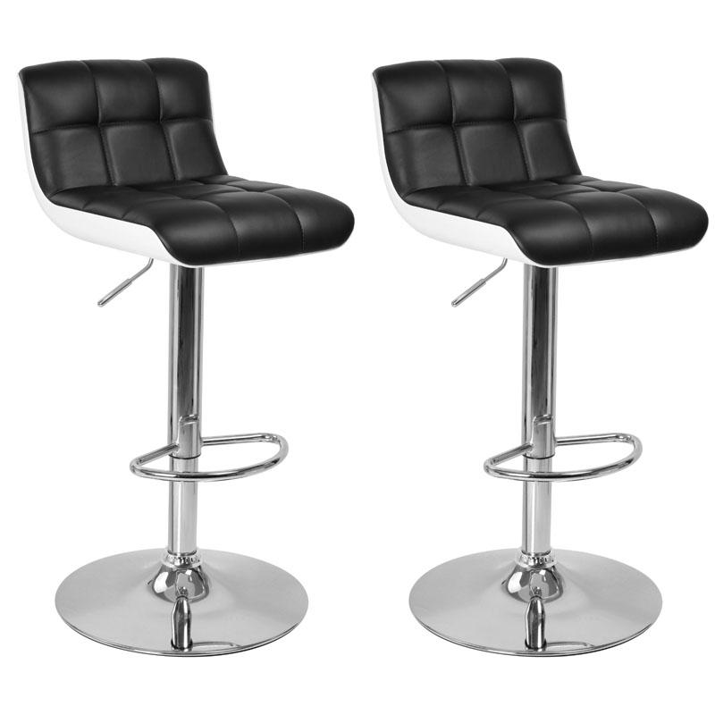 Tabouret bar noir et blanc maison et mobilier d 39 int rieur - Tabouret de bar noir et blanc ...