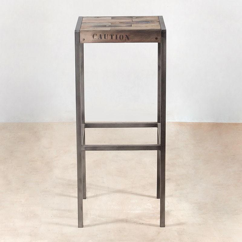 tabouret de bar industriel pas cher maison et mobilier d. Black Bedroom Furniture Sets. Home Design Ideas