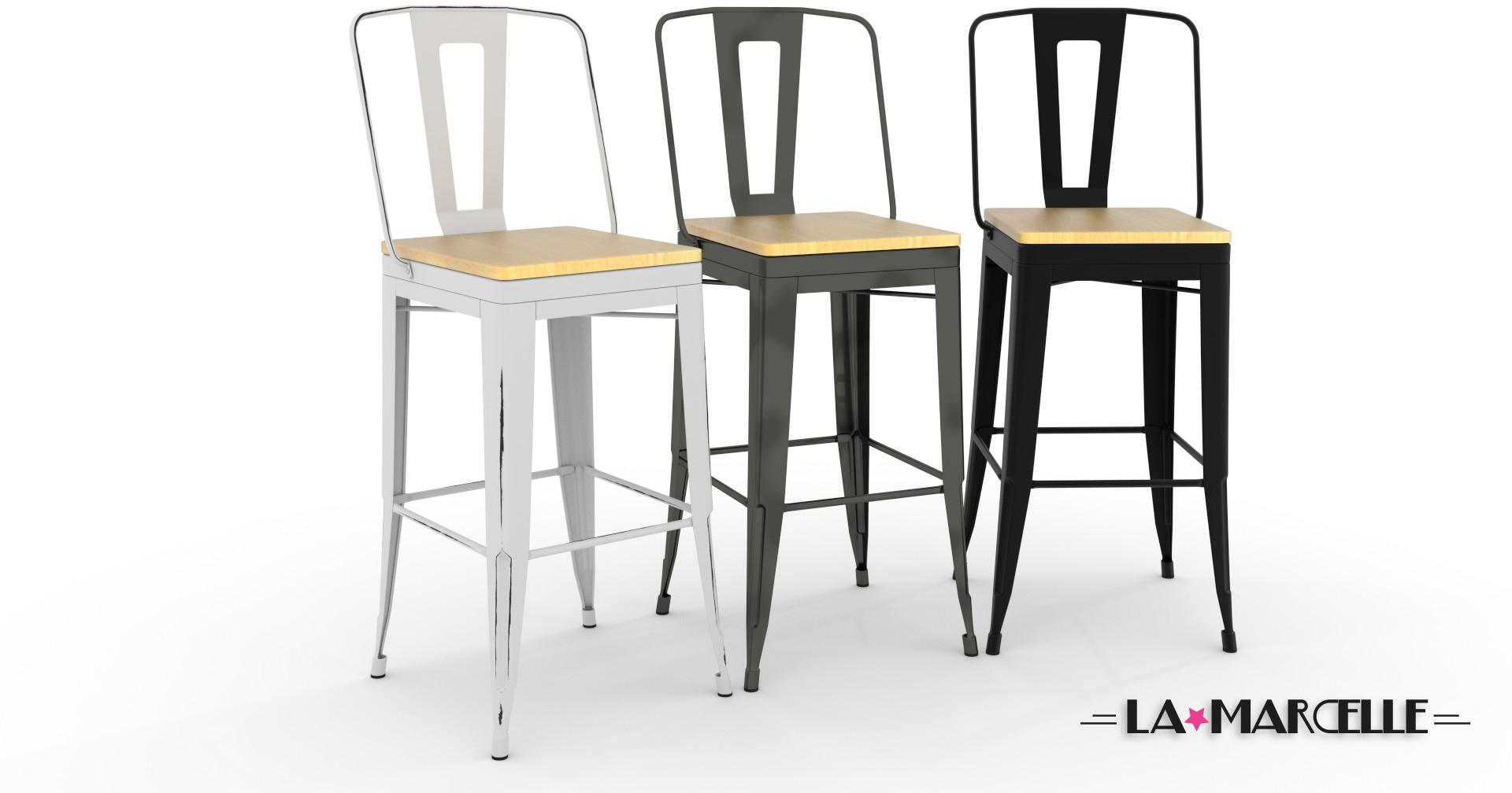 Tabouret et chaise de bar pas cher maison et mobilier d 39 int rieur - Ou trouver des meubles d occasion ...