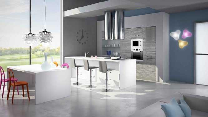 Hotte Aspirante Design Ilot  Maison Et Mobilier DIntrieur