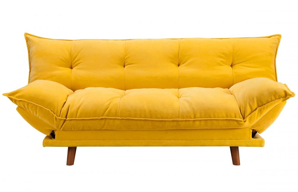 canap clic clac jaune maison et mobilier d 39 int rieur. Black Bedroom Furniture Sets. Home Design Ideas