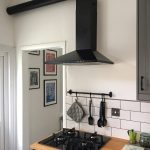 Hotte aspirante kitchen hood
