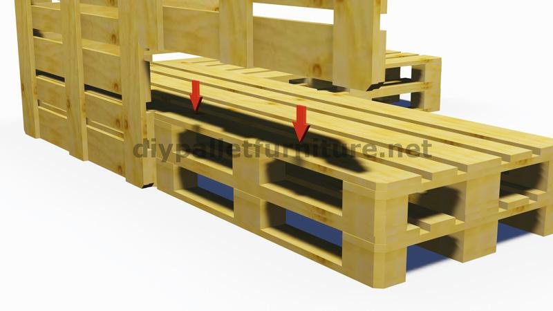 Bien-aimée Fabriquer un canapé convertible en palette - Maison et mobilier d @FT_05