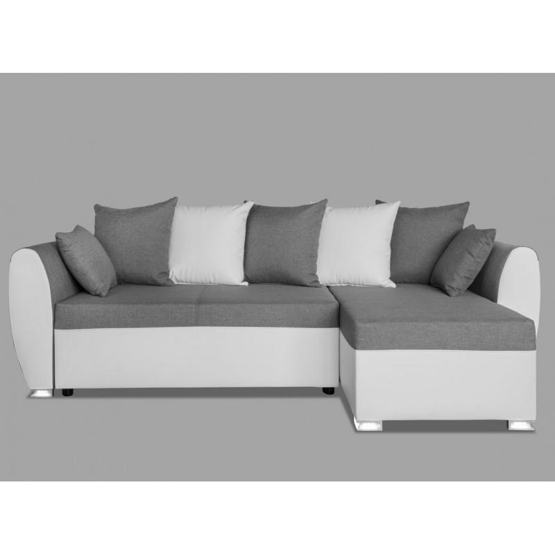Canap convertible gris et blanc maison et mobilier d - Interieur gris et blanc ...
