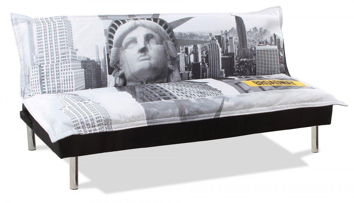 Housse de canap clic clac new york maison et mobilier d 39 int rieur for Housse de canape lit clic clac