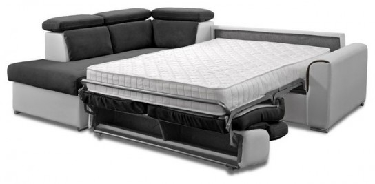 canap convertible avec vrai matelas maison et mobilier. Black Bedroom Furniture Sets. Home Design Ideas