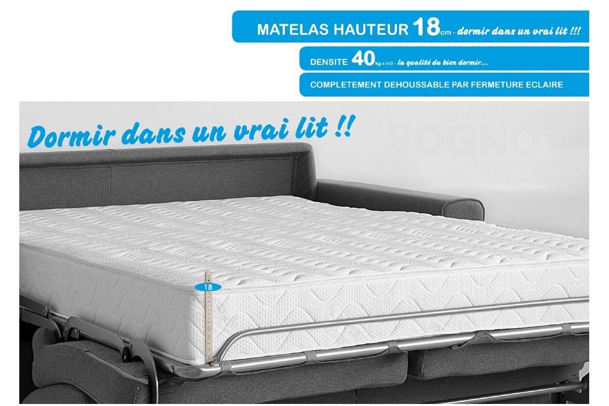 canape convertible ultra confortable maison et mobilier d 39 int rieur. Black Bedroom Furniture Sets. Home Design Ideas