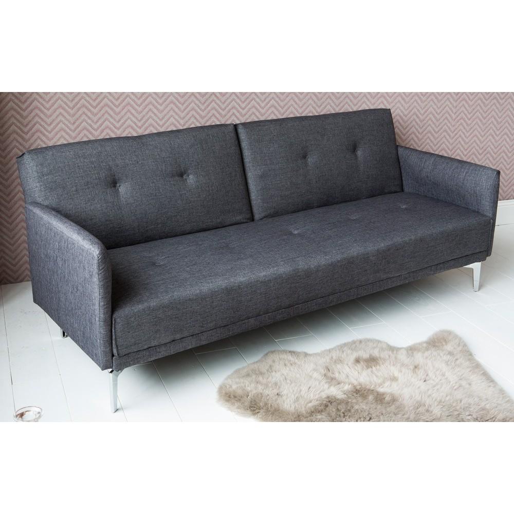 Canapé convertible gris anthracite - Maison et mobilier d\'intérieur