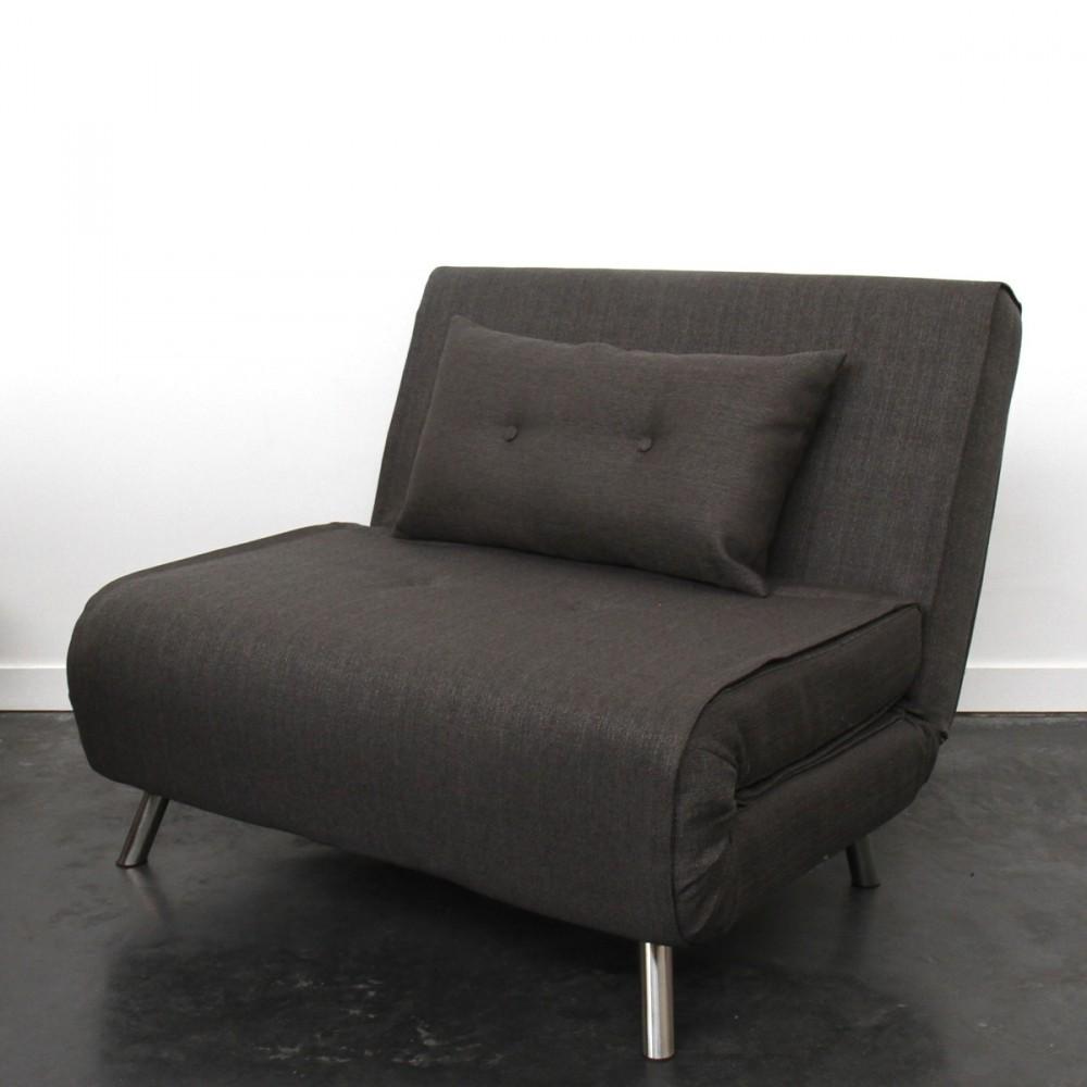 Canape convertible une place et demi maison et mobilier for Canapé lit une place