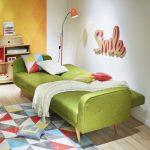 Canapé lit 2 places maison du monde