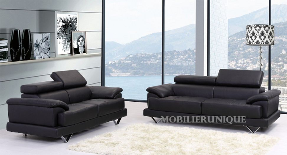 canap 3 places convertible 2 places maison et. Black Bedroom Furniture Sets. Home Design Ideas