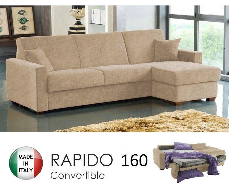 Canape convertible 160 couchage quotidien maison et mobilier d 39 int rieur - Canape lit bz couchage quotidien ...