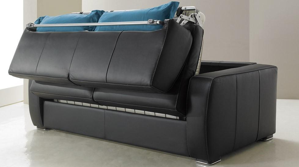 Canape convertible 2 place cuir maison et mobilier d for Canape wordpress theme