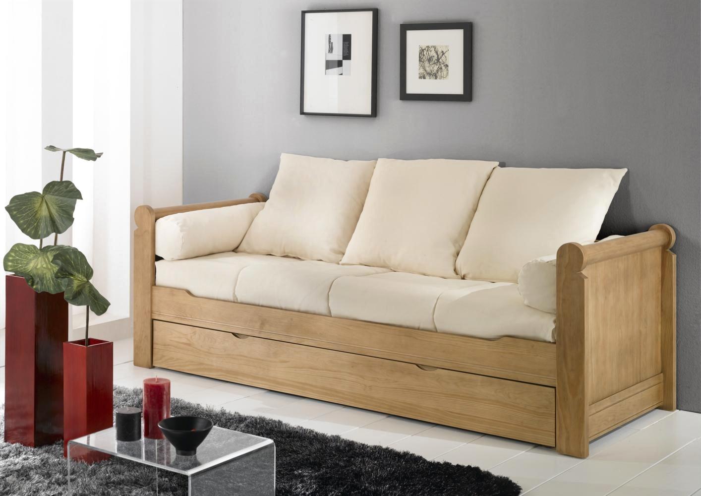 Canapé lit 80×190