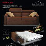 Canapé lit valais