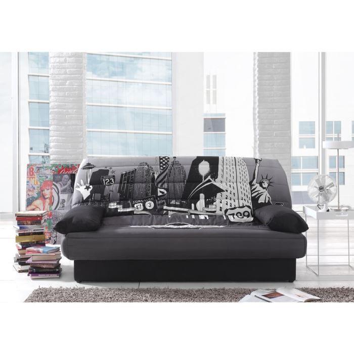 banquette clic clac 3 places maison et mobilier d 39 int rieur. Black Bedroom Furniture Sets. Home Design Ideas