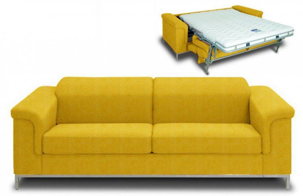 Canapé convertible jaune maison et mobilier dintérieur